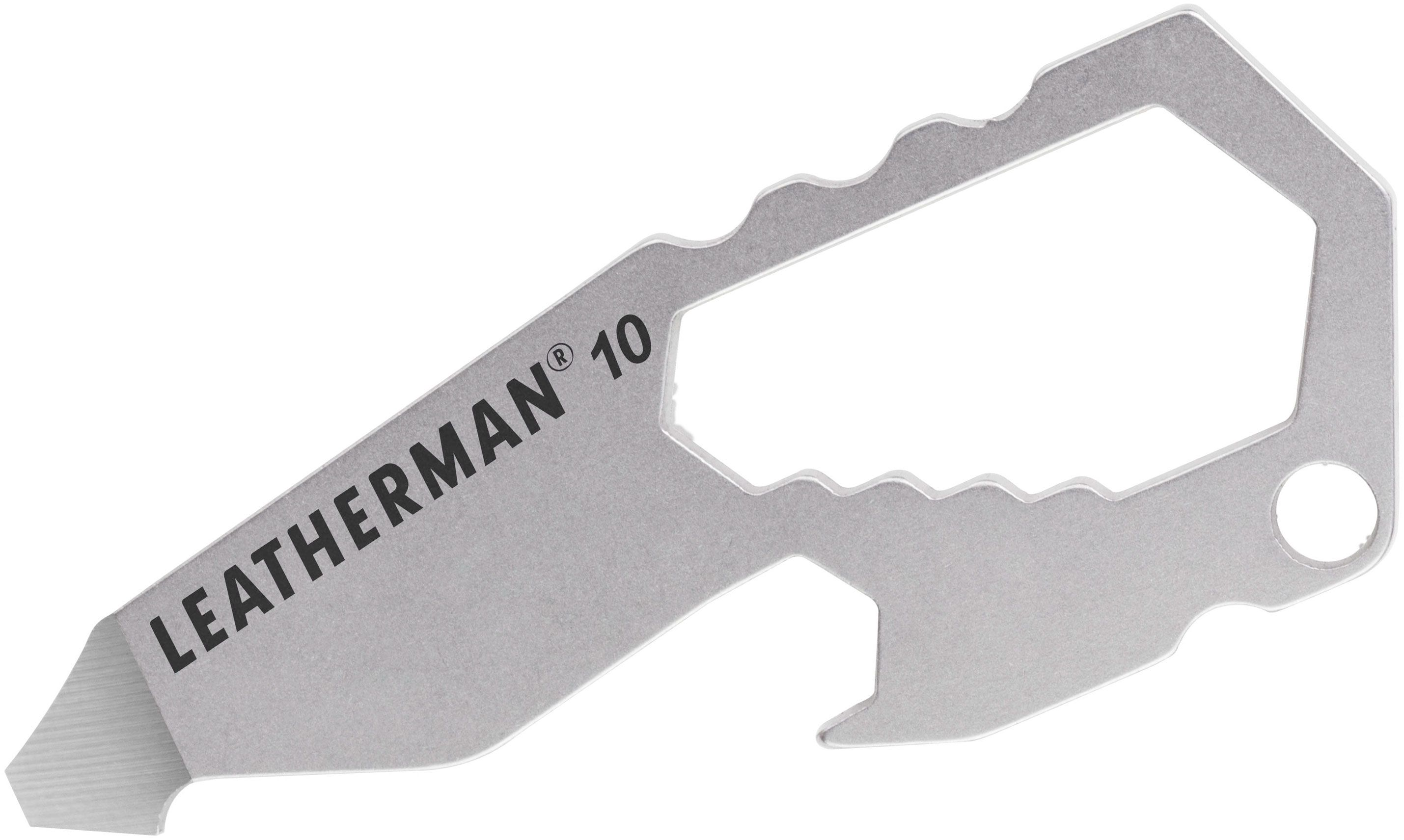 Leatherman Number 10 Keychain Size Mini Multi-Tool