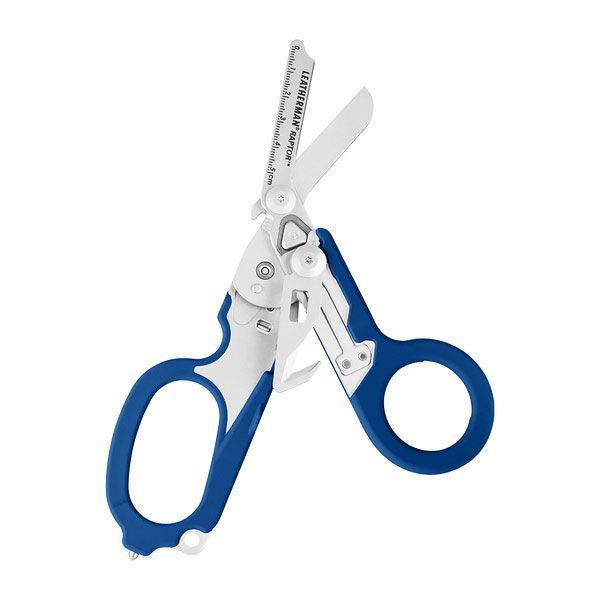 Leatherman Raptor Medical Shears Full-Size Multi-Tool, Blue, Utility Holster