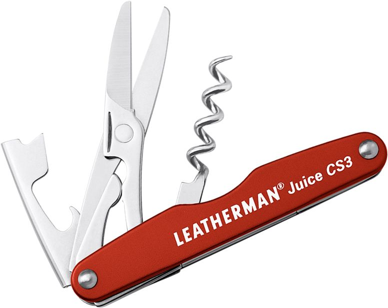 Leatherman Juice CS3 Pocket-Size Multi-Tool, Cinnabar Orange