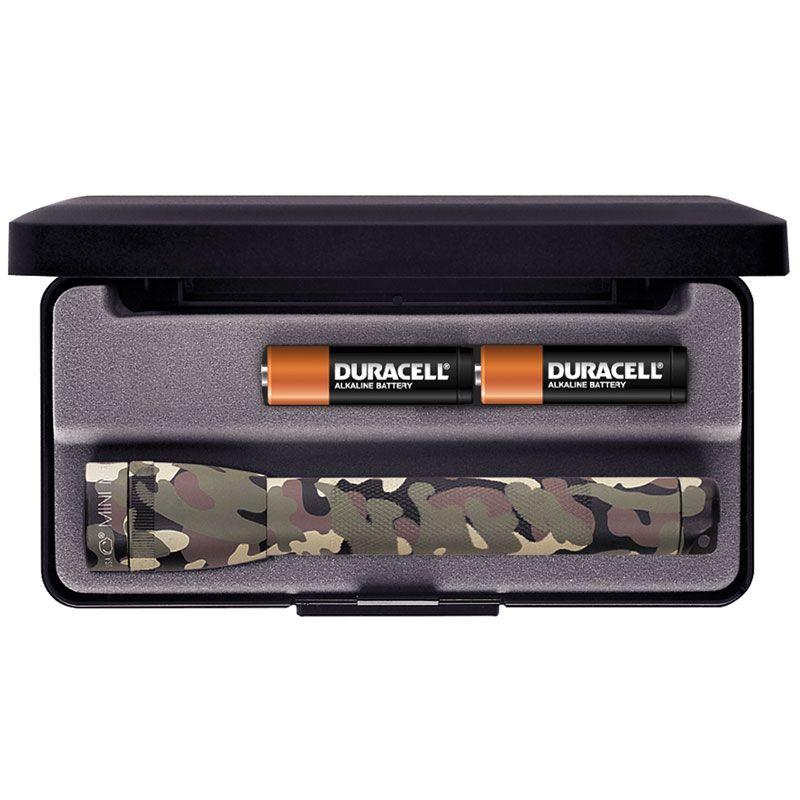 Maglite Minimag AA Flashlight with Gift Box - Camo Body