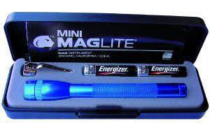 MagLite 2AAA Flashlight Royal Blue Gift Boxed