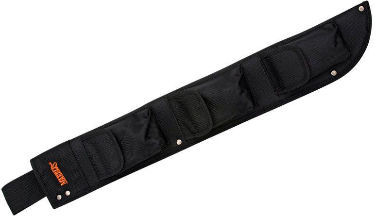 Marble's Heavy Black Nylon Belt Sheath for 12718 Machete