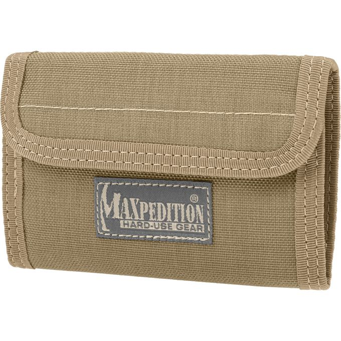 Maxpedition 0229K Spartan Wallet, Khaki