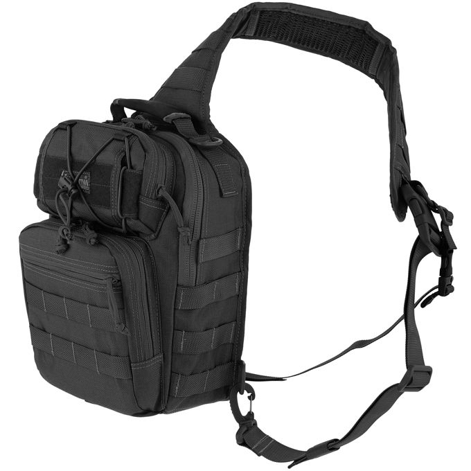 Maxpedition 0422B Lunada Gearslinger Bag, Black