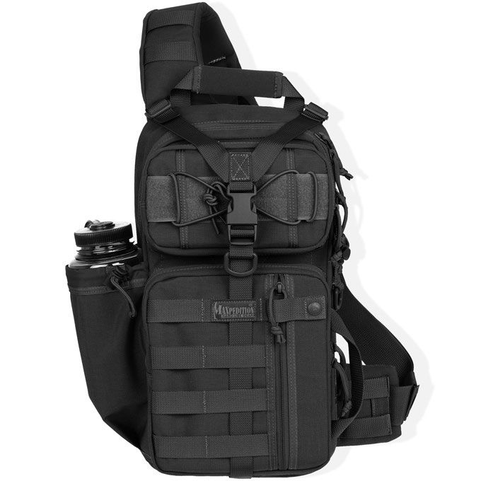 Maxpedition 0431B Sitka Gearslinger Backpack, Black
