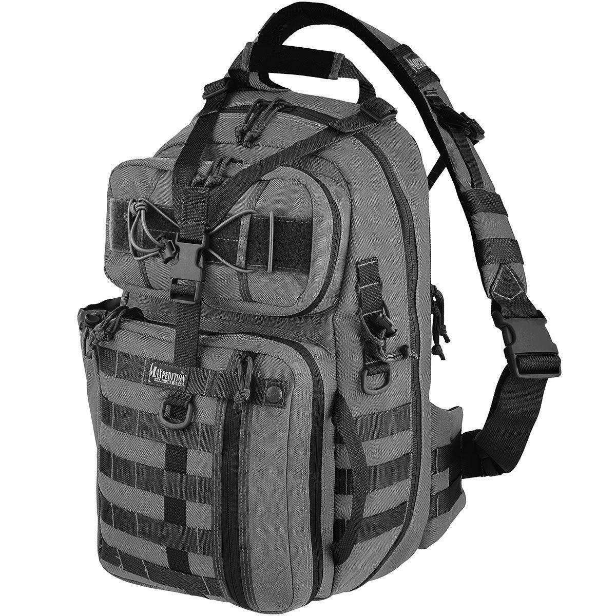 Maxpedition 0432W Kodiak Gearslinger Backpack, Wolf Gray