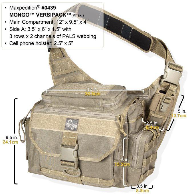 Maxpedition New Mongo Versipack 0439B