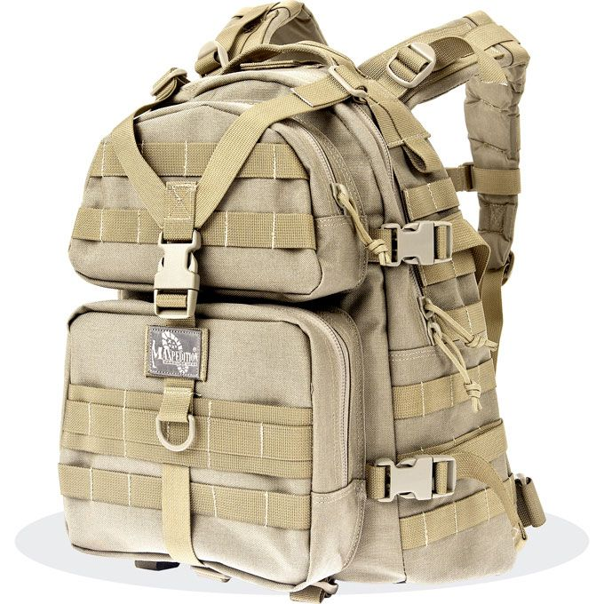 Maxpedition 0512K Condor II Hydration Backpack, Khaki
