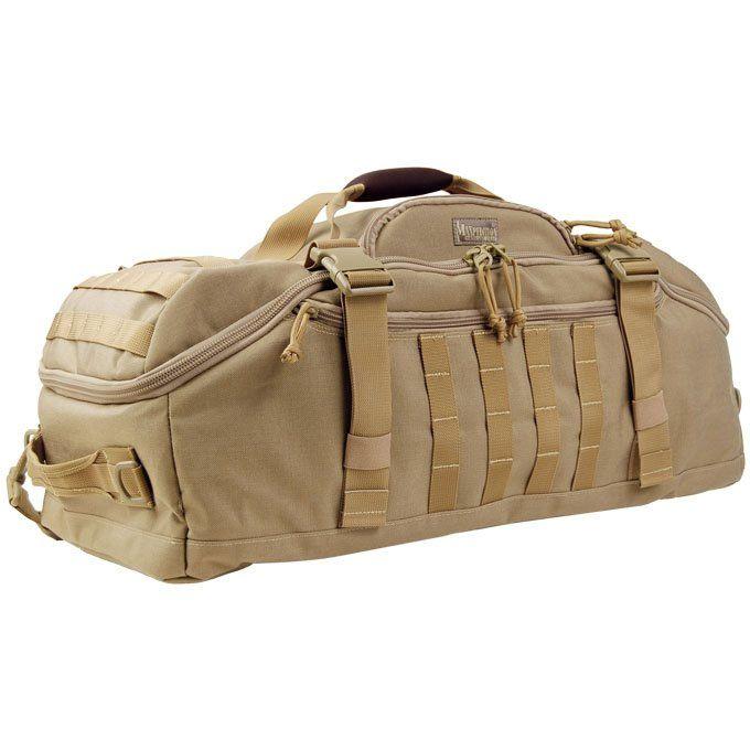 Maxpedition 0608K Doppelduffel Adventure Bag, Khaki
