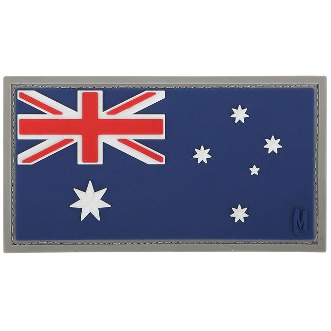Maxpedition AUSTC PVC Austraila Flag Patch, Color