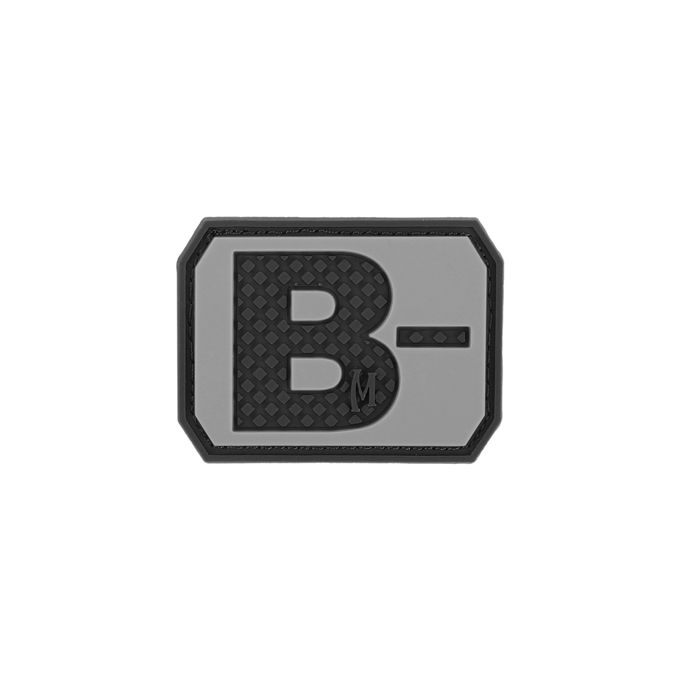 Maxpedition BTBNS PVC B- Blood Type Patch, SWAT