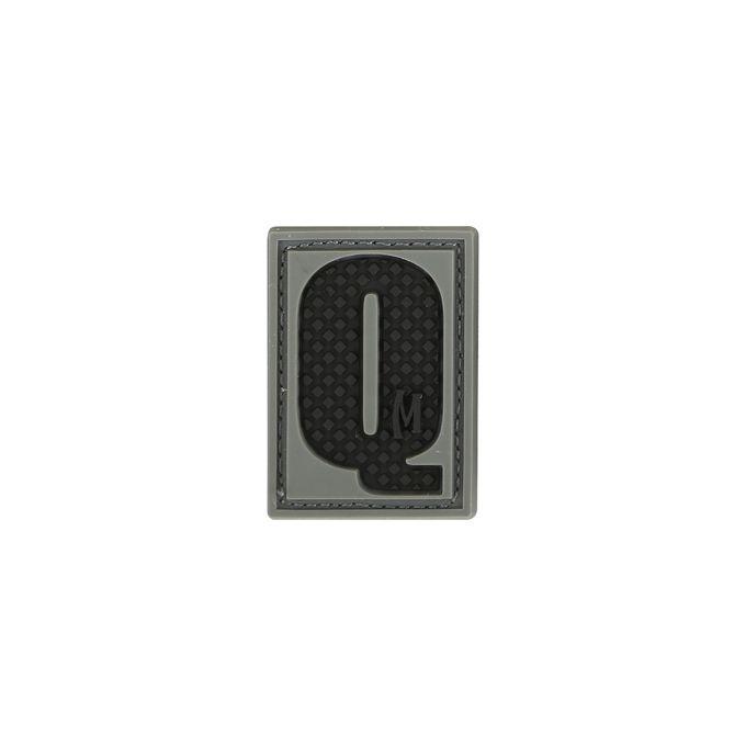 Maxpedition LETQS PVC Letter Q Patch, SWAT