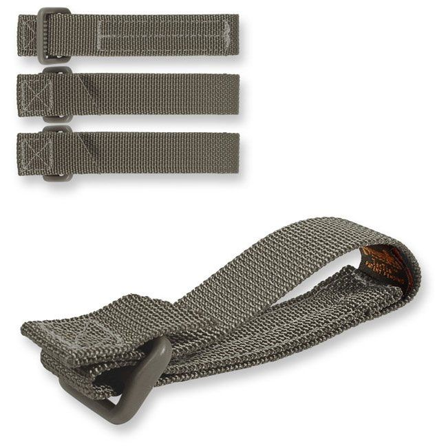 Maxpedition 9903F 3 inch TacTie (Pack of 4), Foliage Green