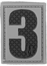 Maxpedition PVC Number 3 Patch, SWAT