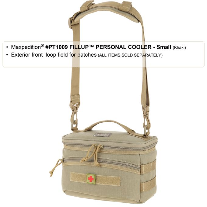 FOILAGE GREEN MAXPEDITION FILLUP PERSONAL COOLER PT1009F