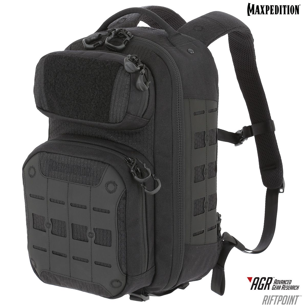 Maxpedition Riftpoint AGR Advanced Gear Research CCW-Enabled Backpack 15L, Black