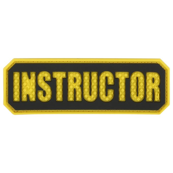 Maxpedition INSTC PVC Instructor Patch, Full Color