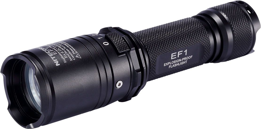 NITECORE Explosion Proof EF1 18650 LED Flashlight, 830 Max Lumens