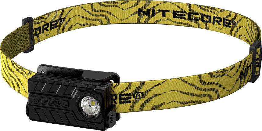 NITECORE NU20 USB Rechargeable LED Headlamp, Black, 360 Max Lumens