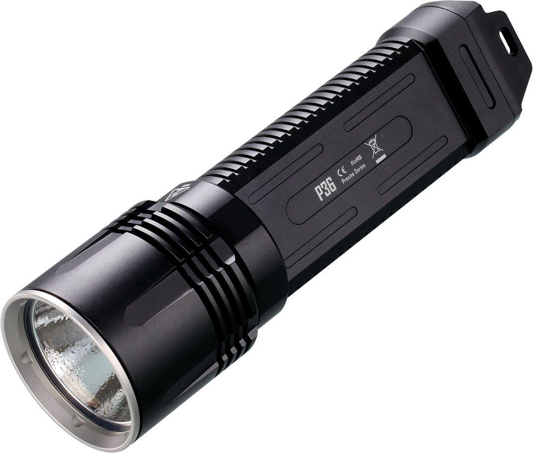 NITECORE Precise P36 2x18650 LED Flashlight, 2000 Max Lumens