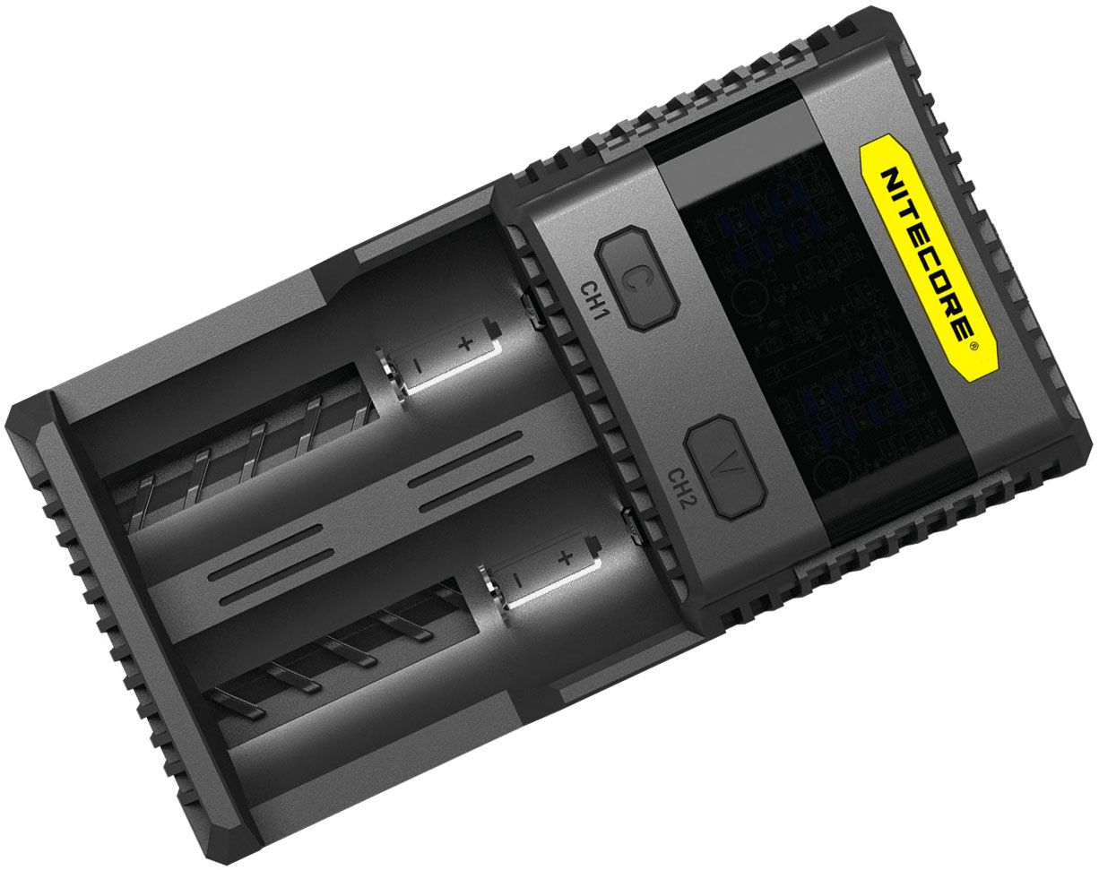 NITECORE SC2 Superb 3A Speedy Charger, Black