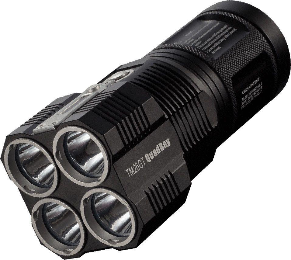 NITECORE TM26GT Tiny Monster Series Rechargeable LED Flashlight, 3500 Max Lumens