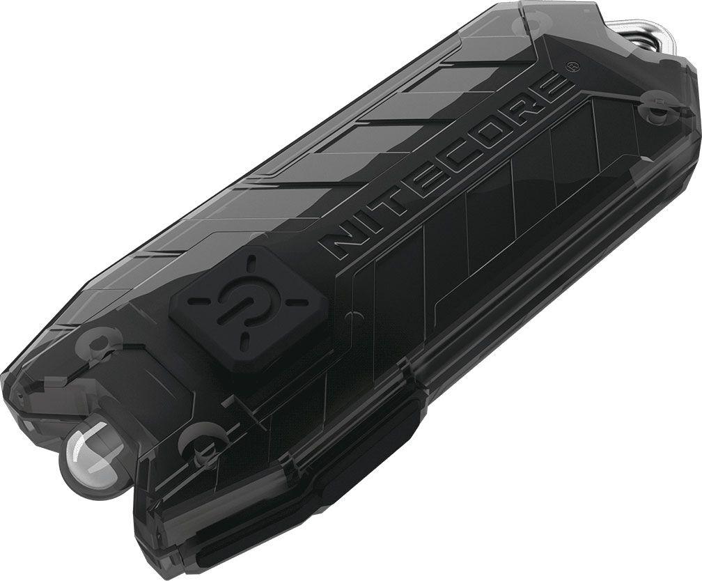 NITECORE Tube-UV Rechargeable Keychain LED Flashlight, Black