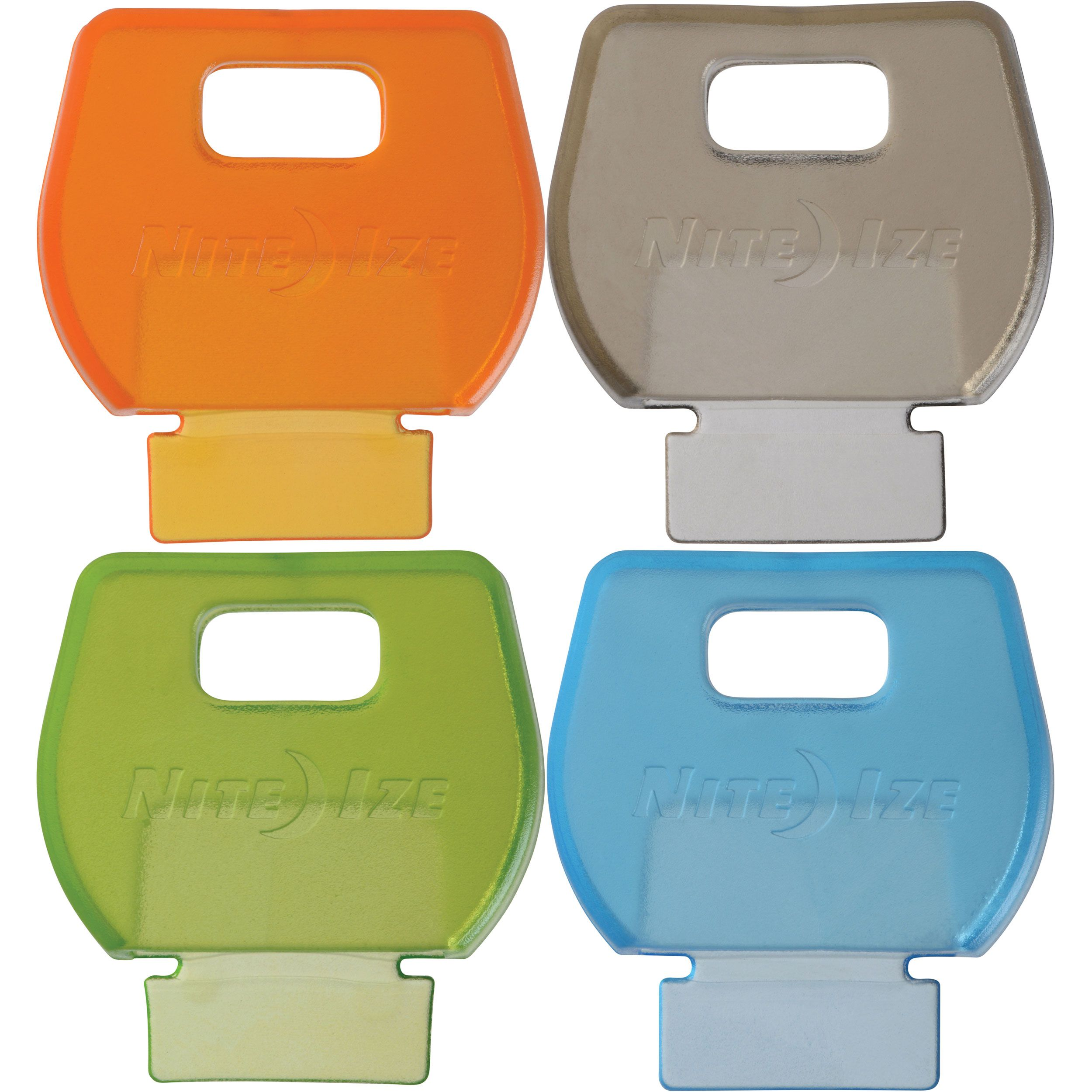 Nite Ize IdentiKey Covers 4 Pack, Assorted Colors