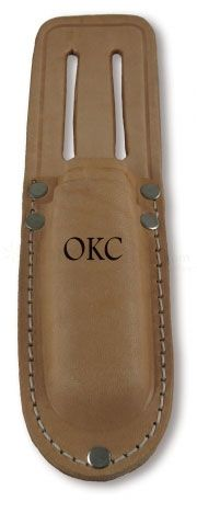 Ontario Electricians Kit Leather Belt Sheath - Holds Cable Splicer and Scissors
