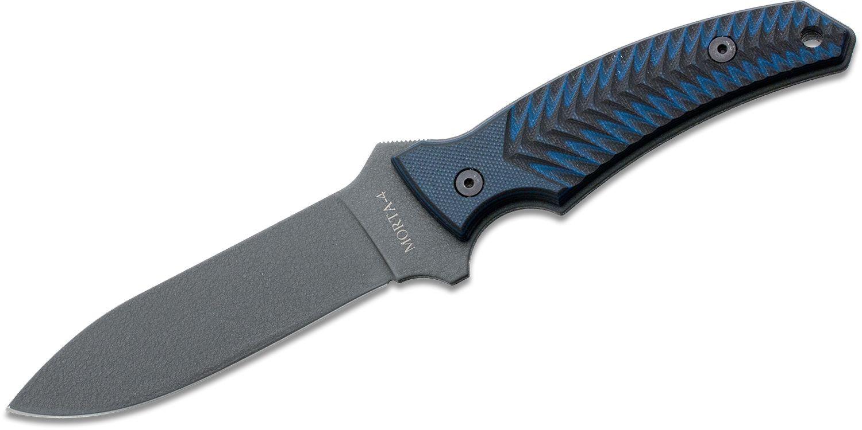 Ontario Fortune Series Morta Tactical Fixed 4 inch Blade, Micarta Handles (8727)