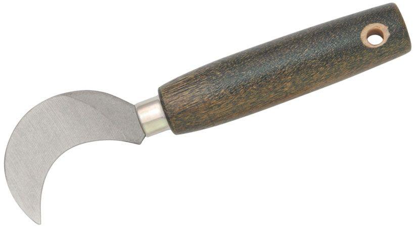 Ontario Old Hickory Grape Hook Field Knife 2-1/4 inch Blade, Hardwood Handle