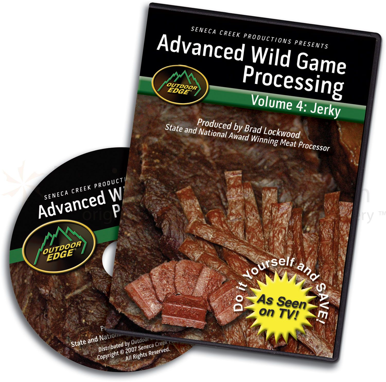 Outdoor Edge DVD Volume 4: Advanced Jerky Processing