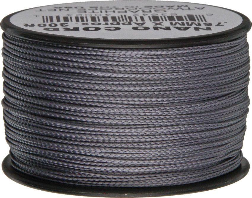 Nano Cord, Graphite, 300 Feet x 0.75 mm