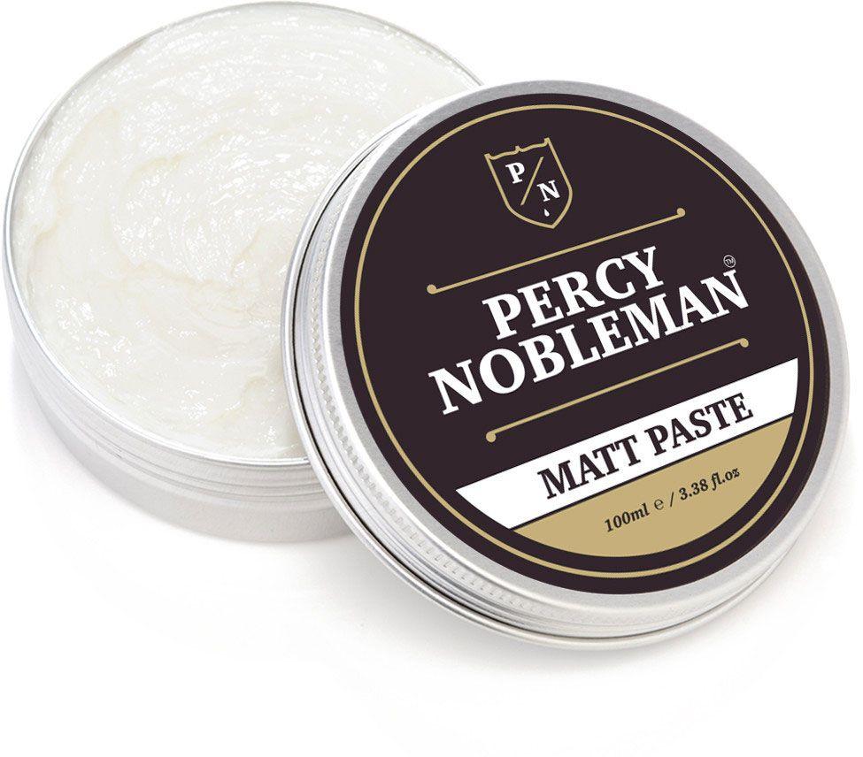 Percy Nobleman Matt Paste Hair Wax, 100ml Tin