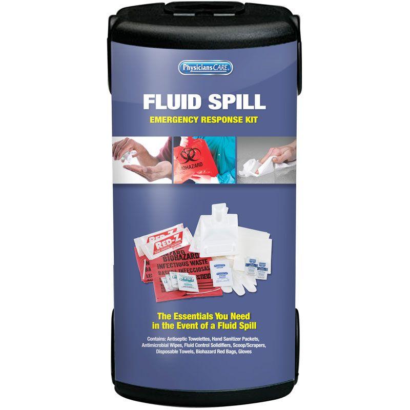 PhysiciansCare Brand Fluid Spill Emergency Response Kit