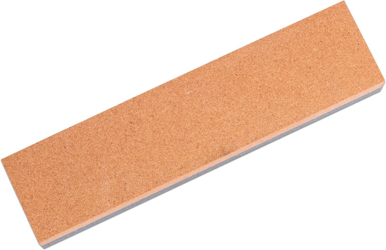 Pride Abrasives Fine/Coarse Combination Stone, 8 inch x 2 inch x 1 inch