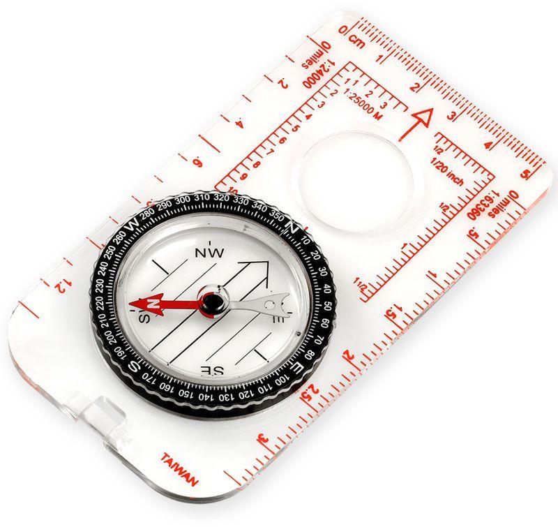 NDūR Medium Liquid Filled Map Compass