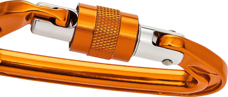 Esee Knives CARABINER-AF-818 RAT Locking Gold Camping Tactical Carabiner Biner