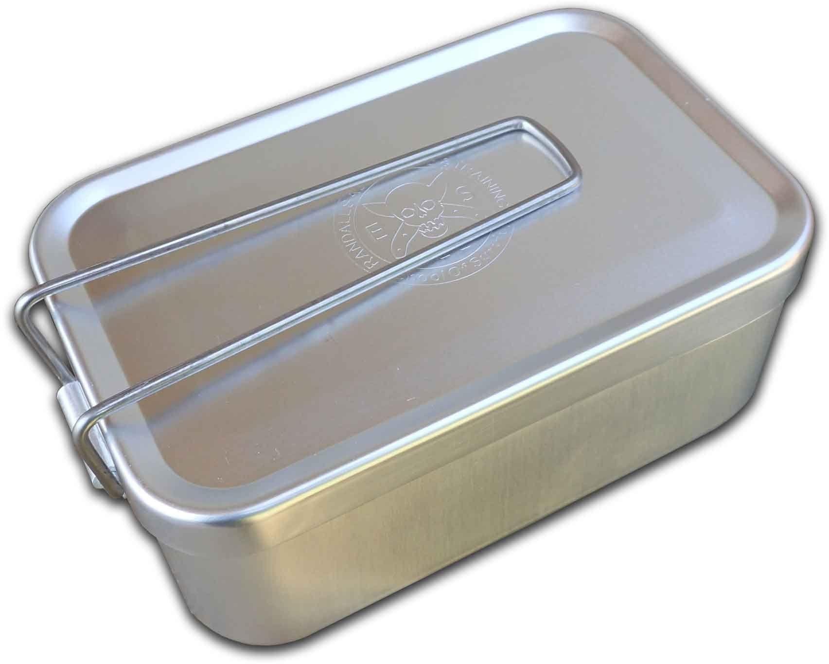 ESEE Knives KIT-TIN Aluminum Mess/Survival Tin