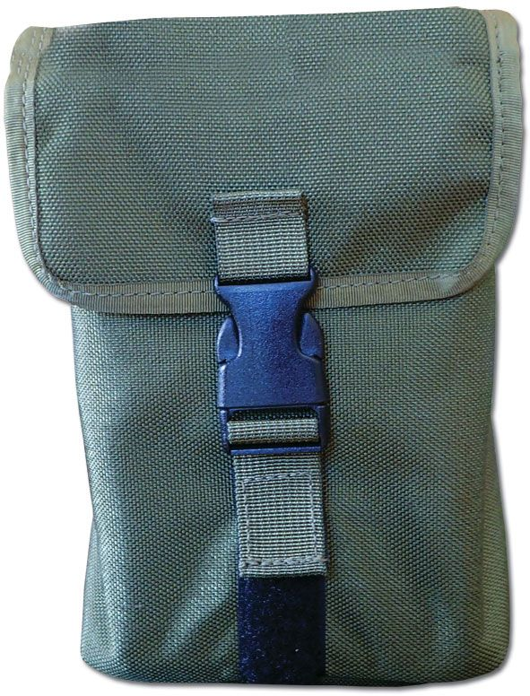 ESEE Knives LARGE-TIN-POUCH-OR Mess/Survival Tin OD Green Cordura Pouch