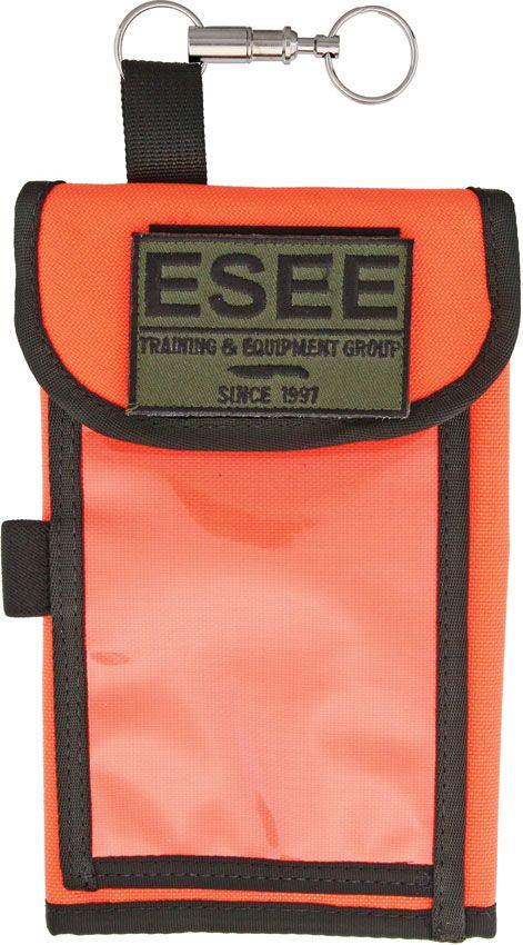 ESEE Izula Gear Orange Cordura Map Case