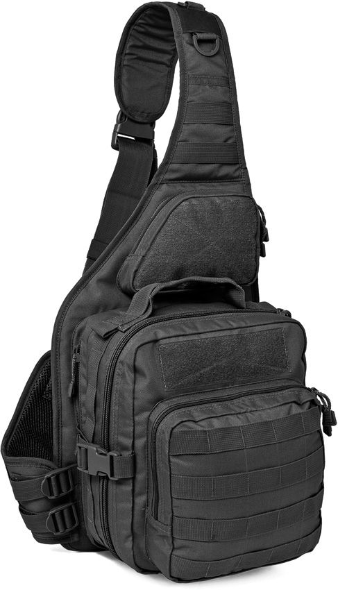 Red Rock Outdoor Gear 80139BLK Recon Sling Pack, Black