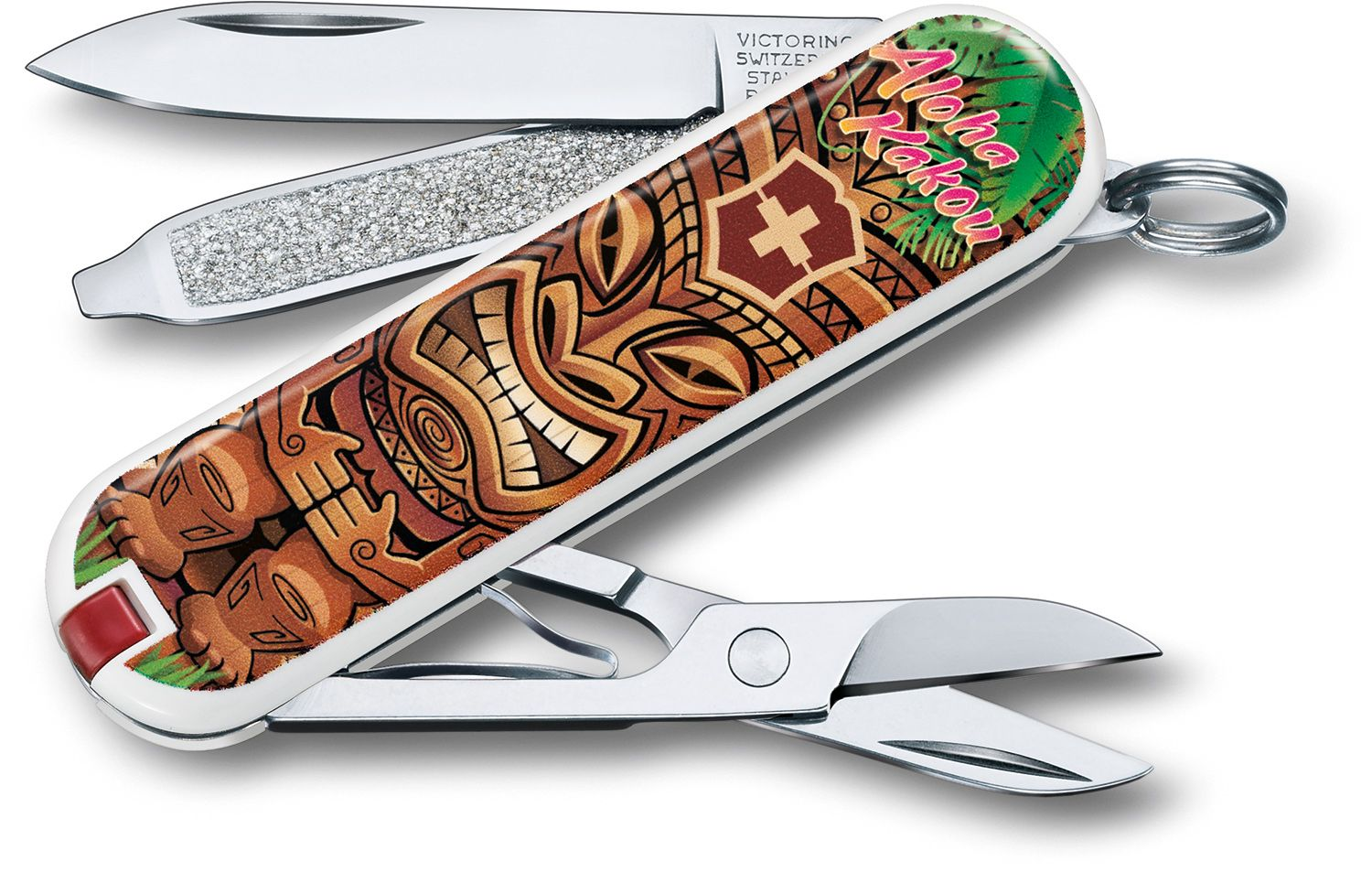 Victorinox Swiss Army Contest Classic SD Limited Edition 2018 Multi-Tool, Aloha Kakou, 2.25 inch Closed