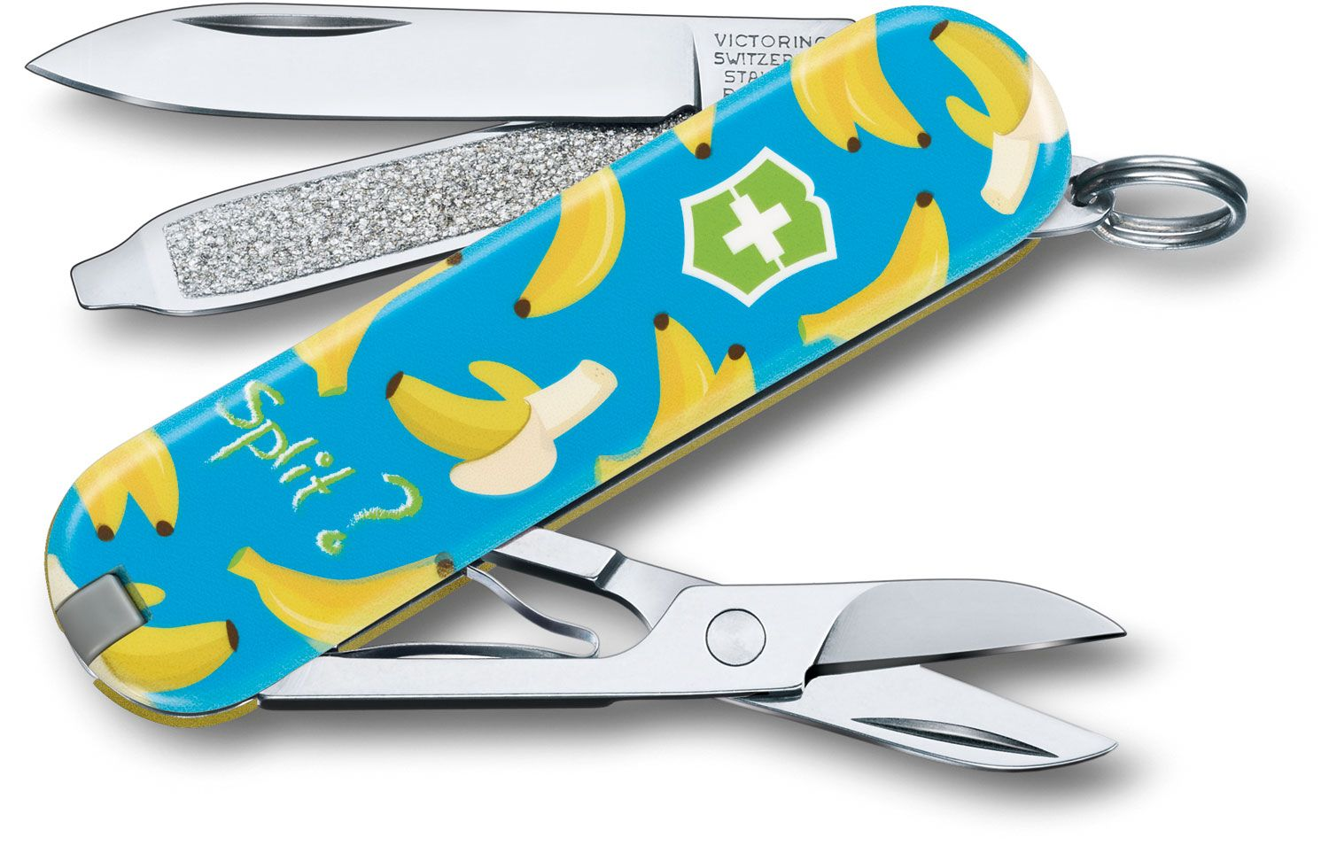 Victorinox Swiss Army Contest Classic SD Limited Edition 2019 Multi-Tool, Banana Split, 2.25 inch Closed (Old Sku 0.6223.L1908US1)