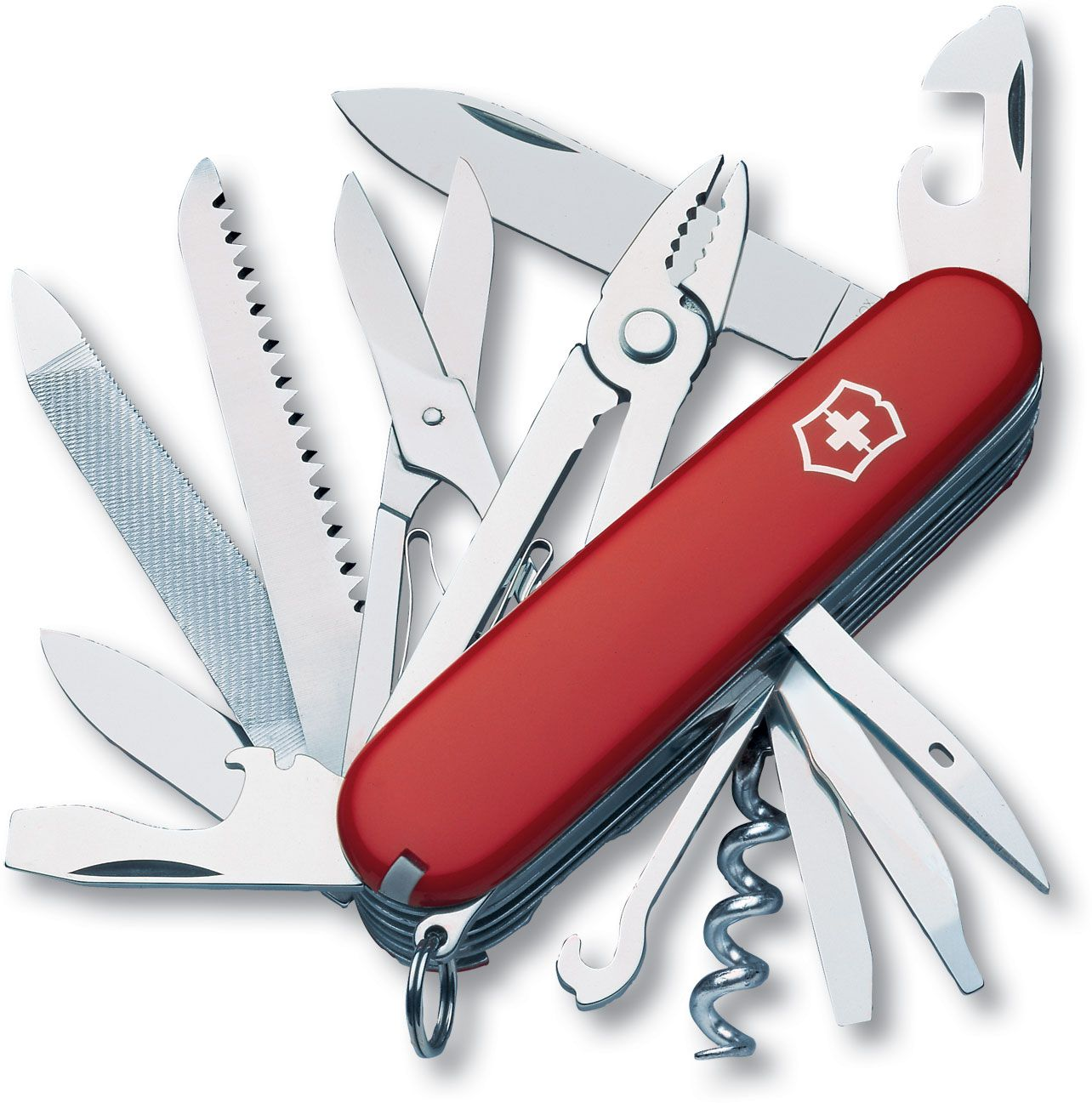Victorinox Swiss Army Handyman Multi-Tool, Red, 3.58 inch Closed (Old Sku 53722)