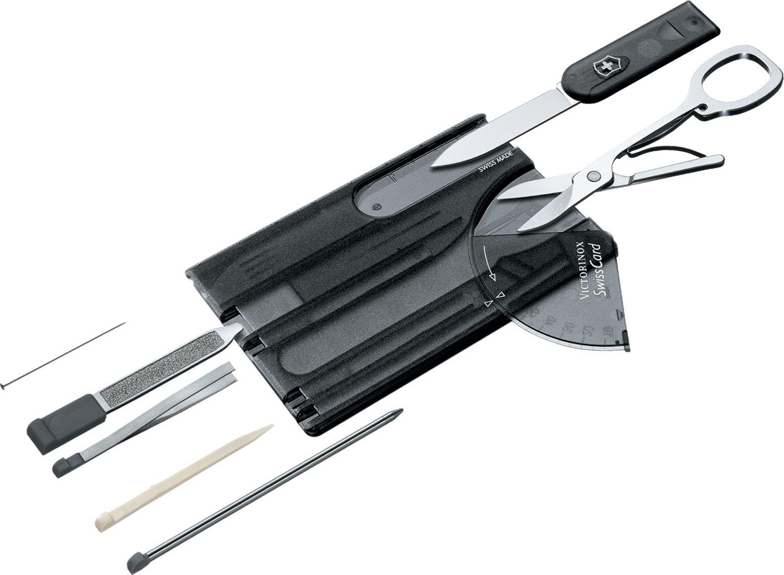 Victorinox Swiss Army SwissCard Multi-Tool, Translucent Onyx (Old Sku 53937)