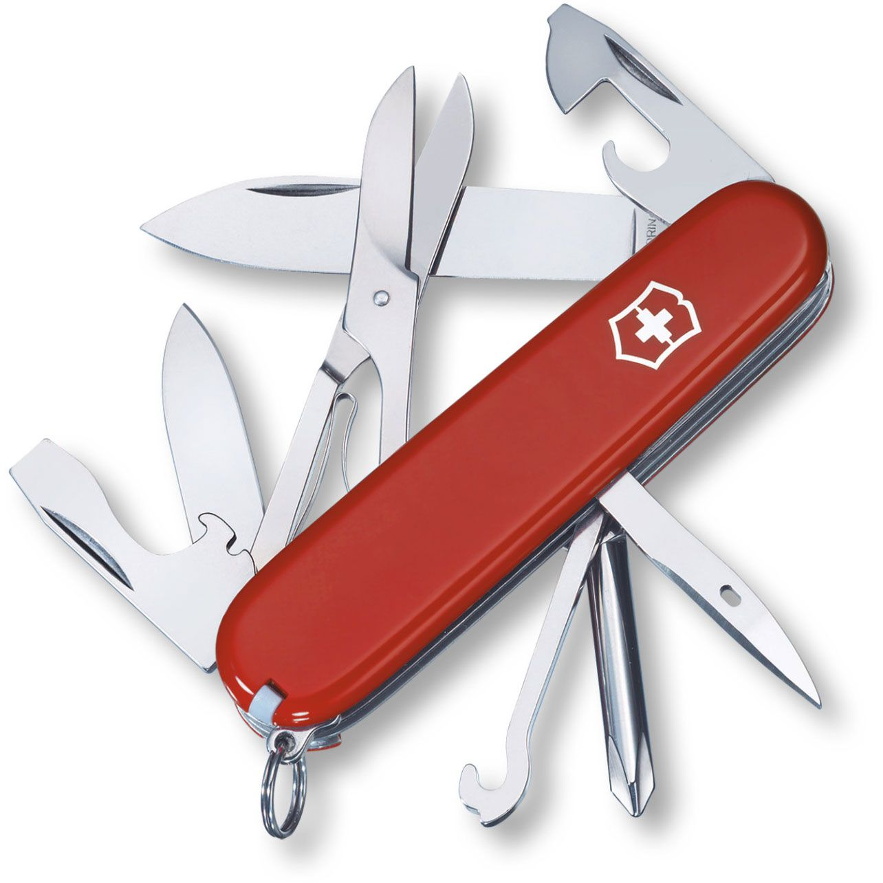 Victorinox Swiss Army Super Tinker Multi-Tool, Red, 3.58 inch Closed