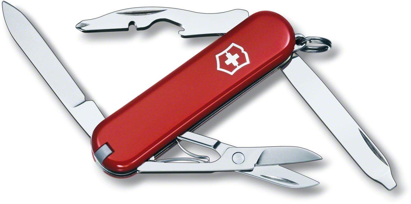 Victorinox Swiss Army Rambler Multi-Tool, Red, 2.28 inch Closed (Old Sku 54031)