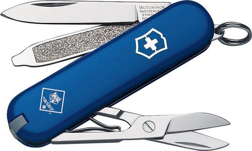 Victorinox Swiss Army Classic SD Multi-Tool, Blue, Cub Scout, 2.28 inch Closed (Old Sku 54402)