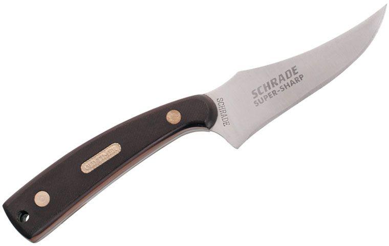 Schrade 152OT Old Timer Sharpfinger Fixed 3.5 inch Blade, Delrin Handles